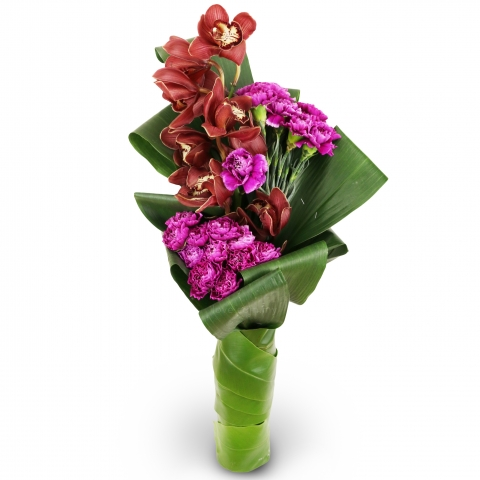 Imported Cymbidium Bouquet 02