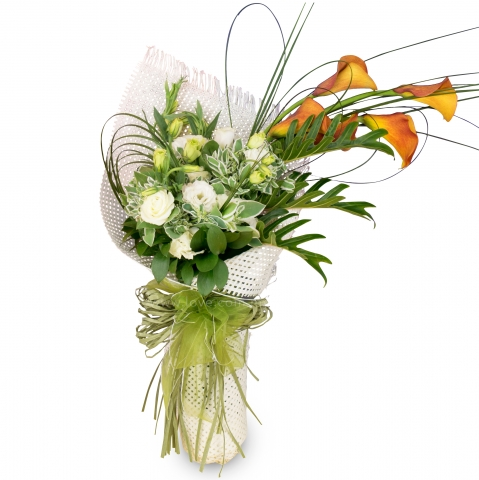 Imported Calla Lily Bouquet 03