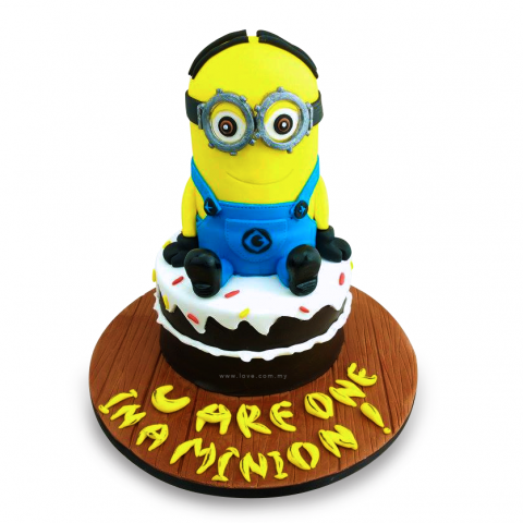U R One In A Minion Cake (3D)