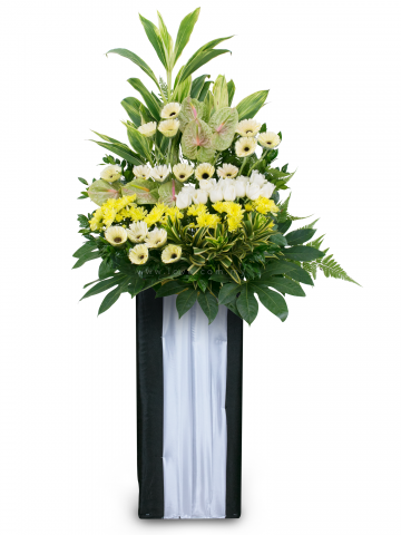 Condolence Floral Stand 36