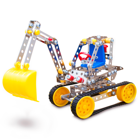 Magical Model Construction Truck Heavy Duty Backhoe