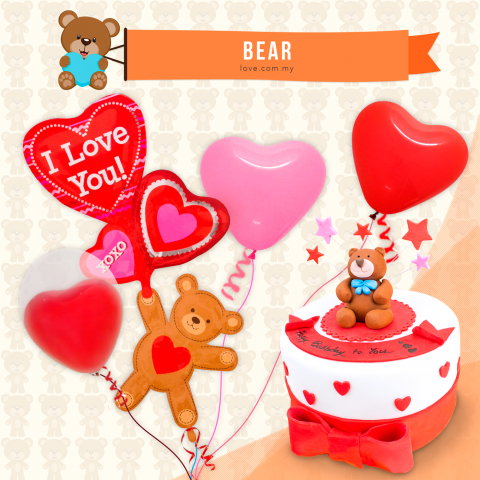 Bear Birthday Set 03
