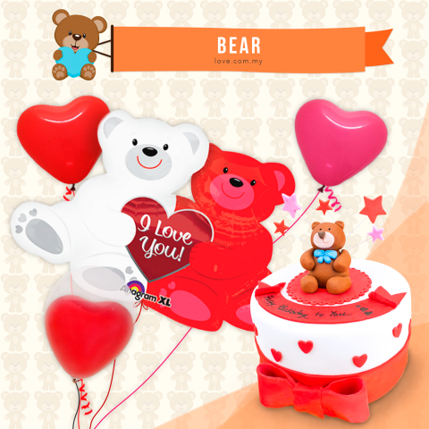 Bear Birthday Set 05