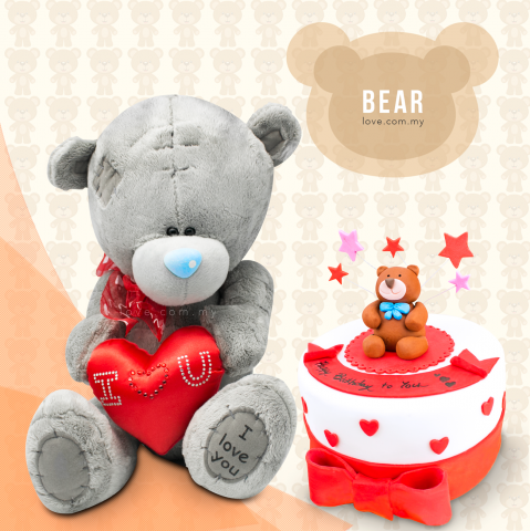 Bear Birthday Set 08