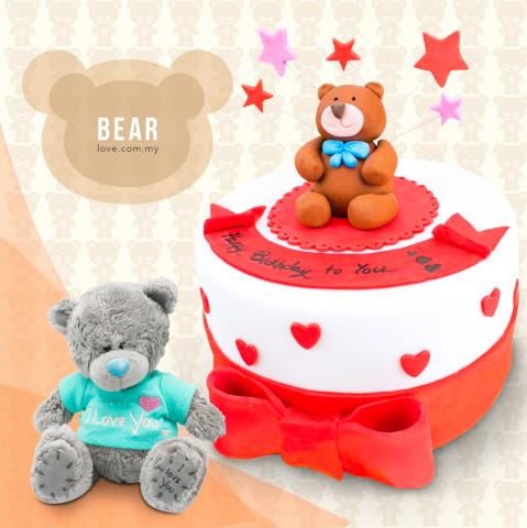 Bear Birthday Set 10
