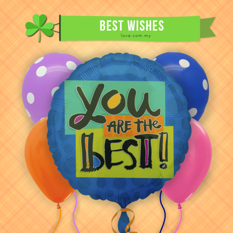 (ECB21) You Are The Best! Balloon