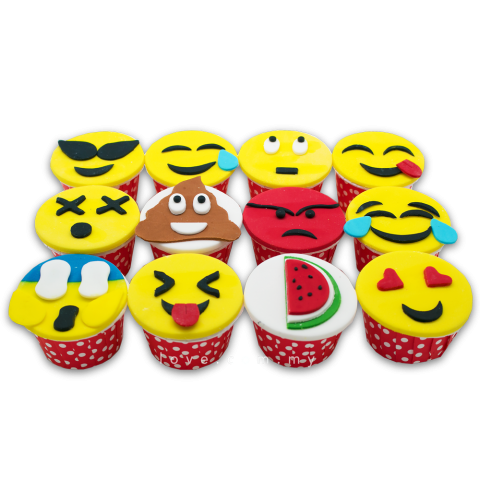 Emoticon Cupcakes (LL-018)