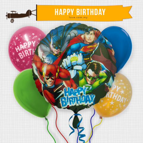 (KBB18) Kids Birthday Balloon 18