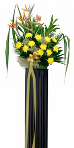Condolence Floral Stand 19