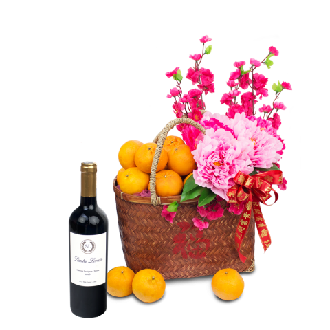 Chinese New Year Basket Hamper - Fortune - BH01