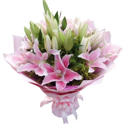 Valentine's Day Lilies VB05