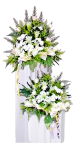 Condolence Floral Stand 02