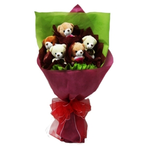 Bear Bouquet 01